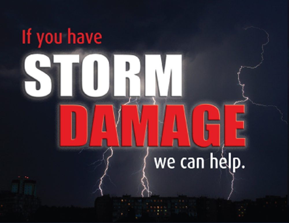Storm Damage MVP Roofing can help