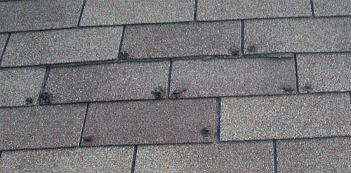 MVP Roofing Inspection for Hail Damage