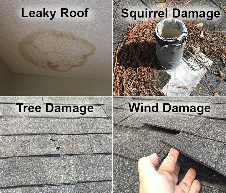 MVP Roofing Damage Inspection